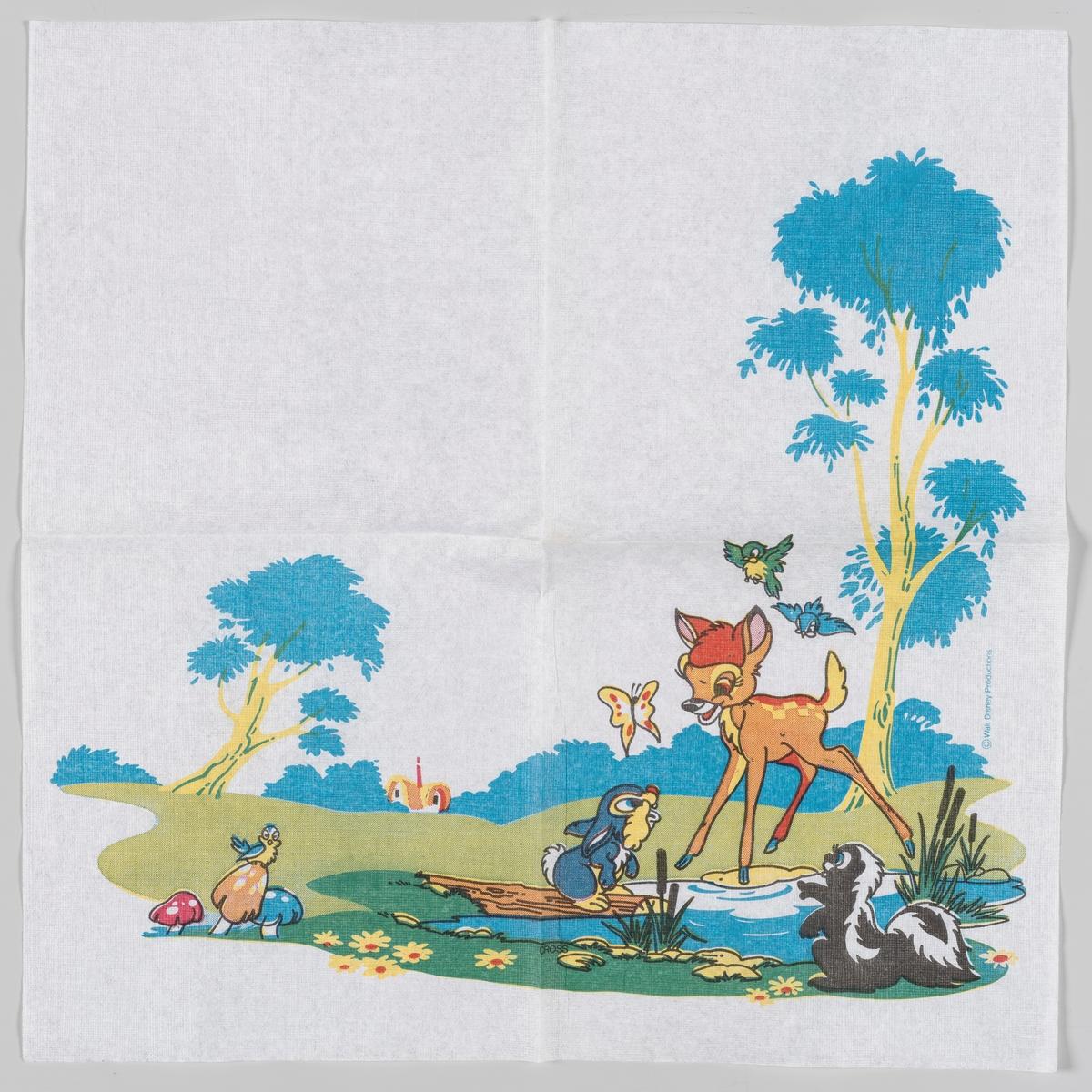 Bambi og Trampe  Animasjonsfilmen Bambi fra Walt Disney hadde premiere i 1942.