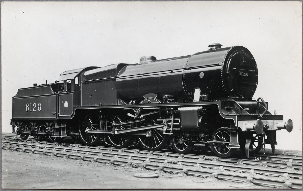 """London, Midland and Scottish Railway, LMS SCOT 6126 """"Royal Army Service Corps""""."""
