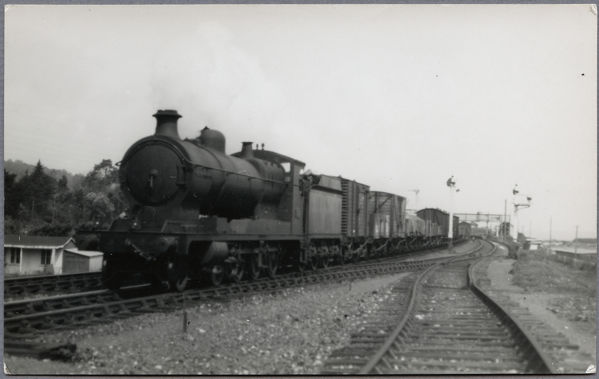 Great Western Railway, G.W.R. lok 3017. Byggt 1919.