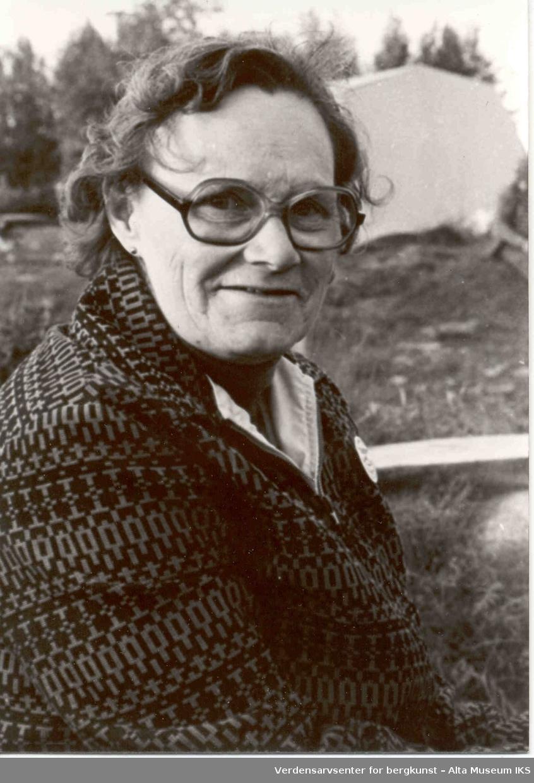 Altasaken kvinne, Ruth Rye Josefsen