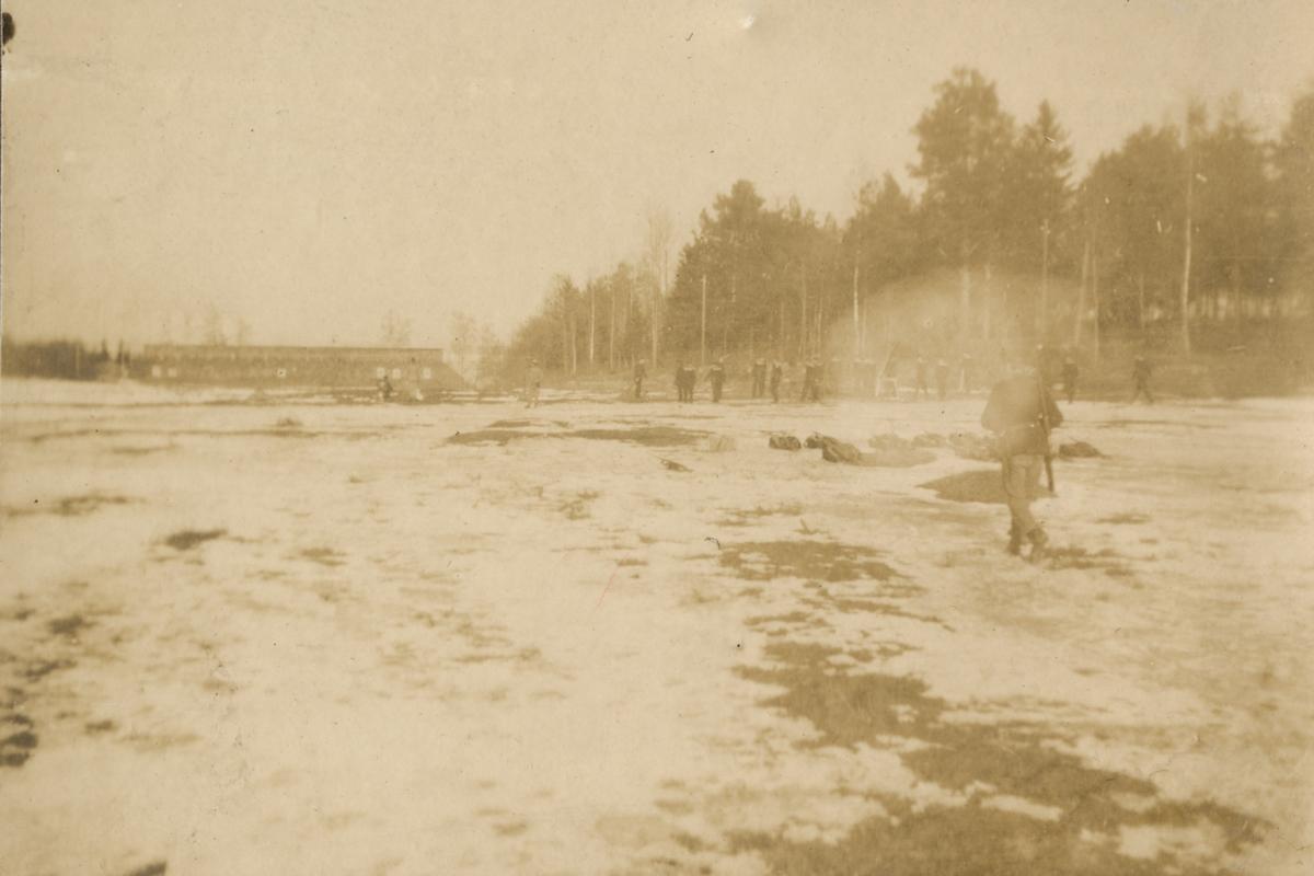 Skjutbana vid Vaxholms grenadjärregemente I 26.