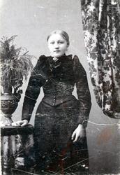Konfirmant Birgit Bjøberg.