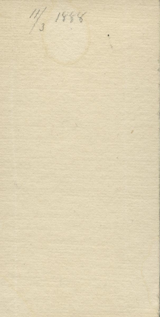 Gulla Almgren, 1885.