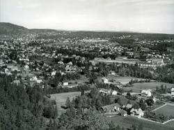 Øvre fabr. Oversikt. Her ser en foto tatt fra Svartås.