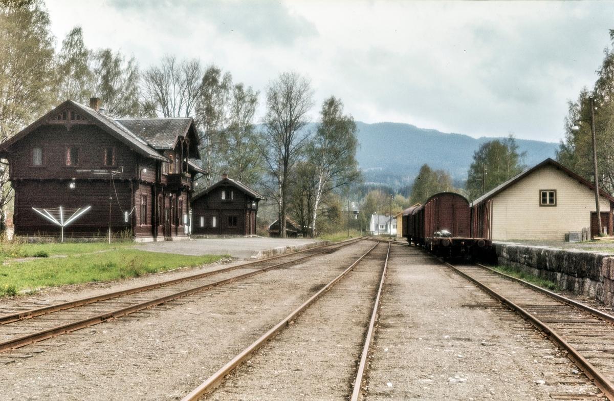 Skreia stasjon på Skreiabanen