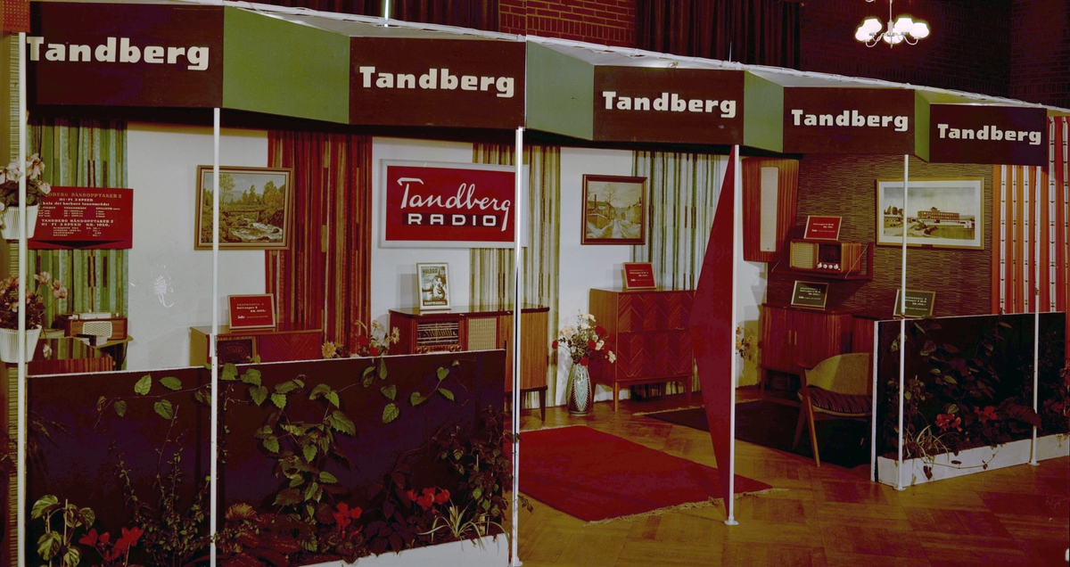 Radiomessen 5-14 oktober 1956 i Handelsstandens Hus