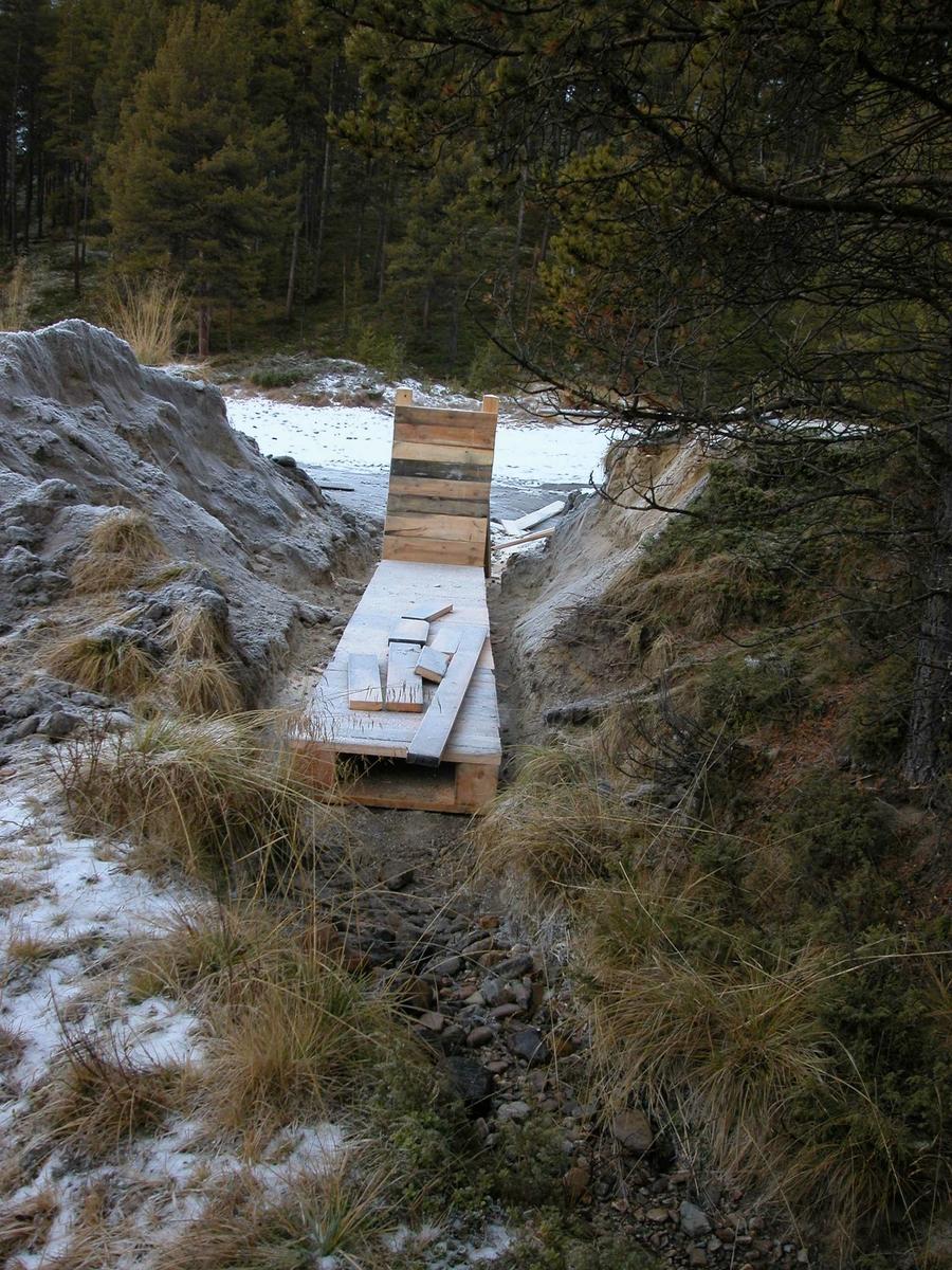 Dammen, saga i Mellombekken, Folldal