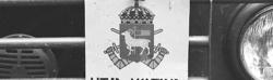 Militärmästerskap Motor. Fordonsskylt, P 18.