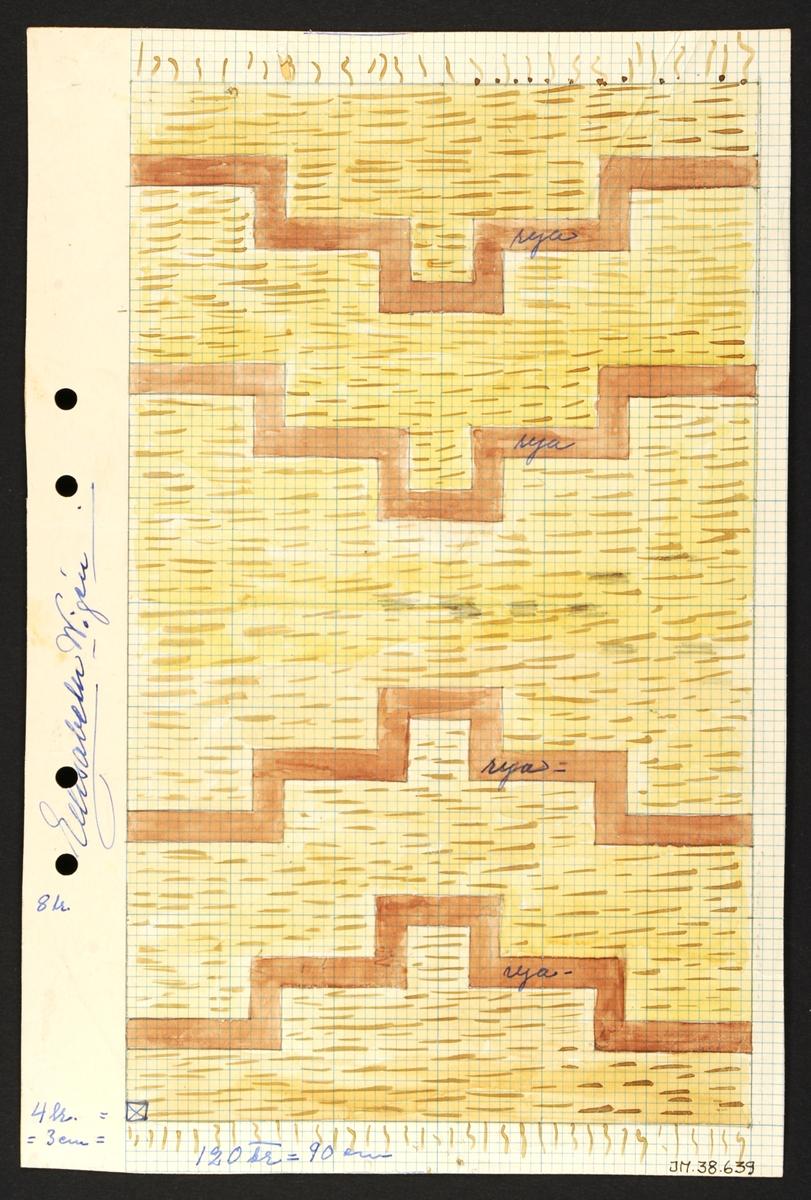 Dekorativt, tvärrandigt, rektanglar