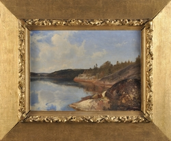 Ensjön [Målning]