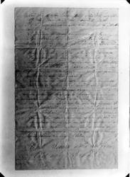 Kroppåsbrev daterat 1872. Sör Rasgärde, Munktorp sn. Avsluta