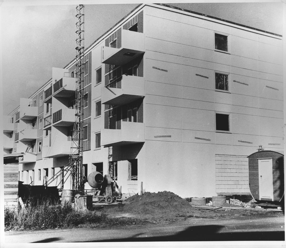Oppføring av boligblokk i Lillestrøm.