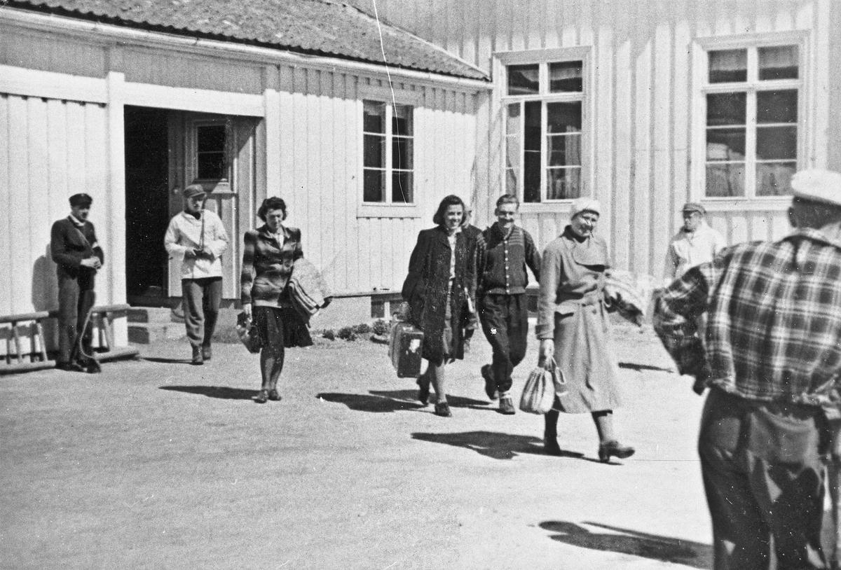 Arrestasjon av NS – folk på Mork.