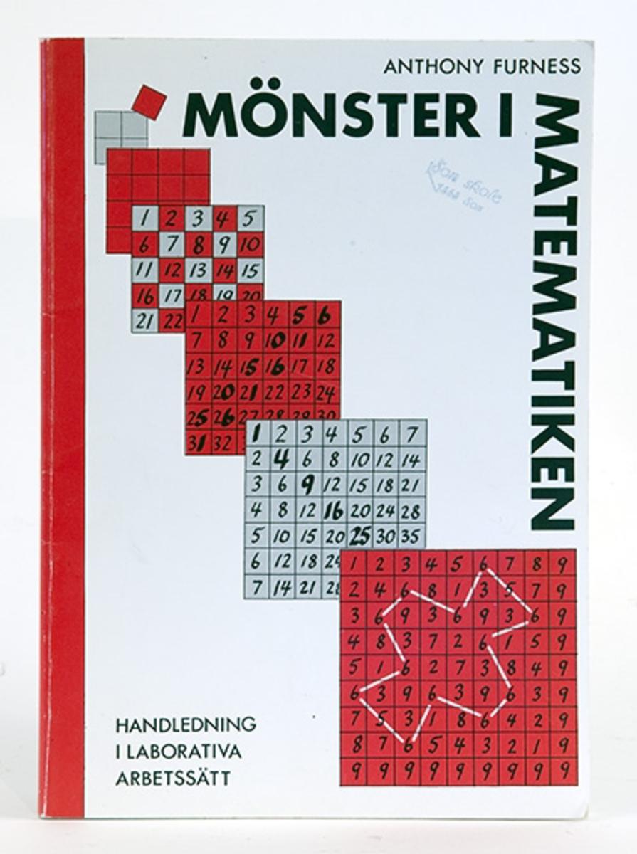 Lærebok i matematikk. Mönster i matematiken av Anthony Furness.