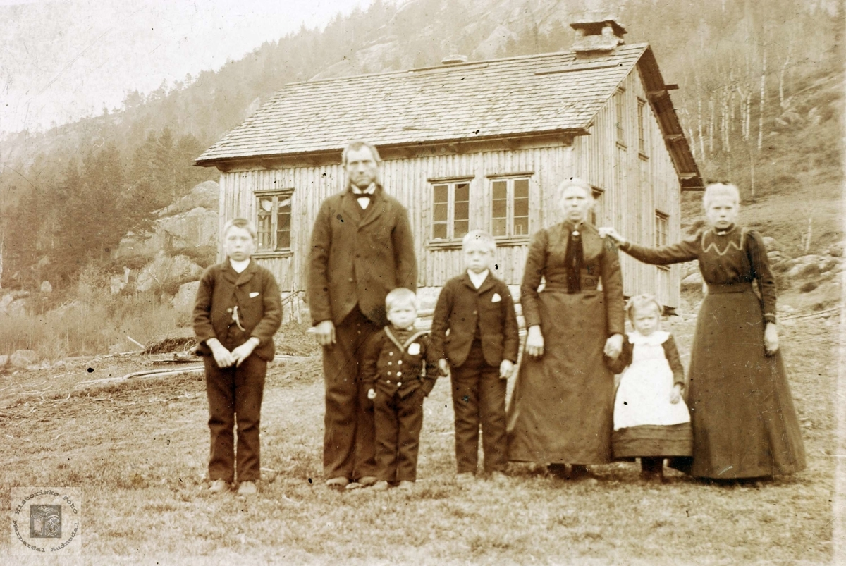 Familien Botnan. Grindheim Audnedal.