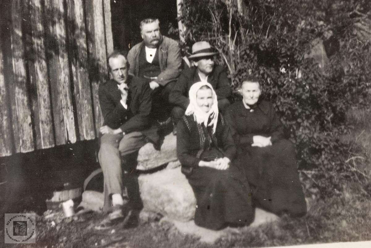 Slekt frå Seland, Sveindal og Foss.