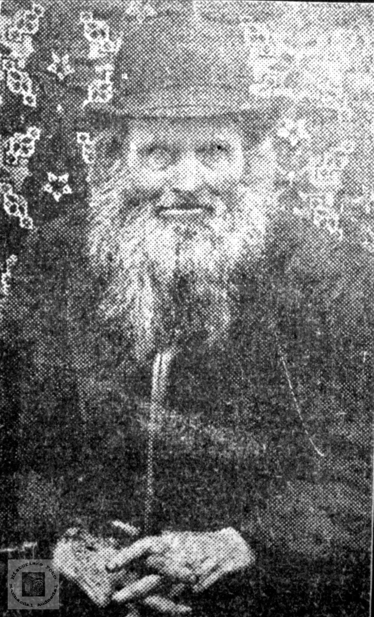Portrett av Tallak Hærås
