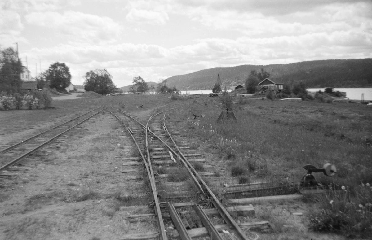 Skulerud stasjon noen år etter nedleggelsen.