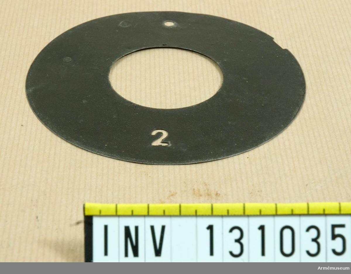 D 115 mm. 2.