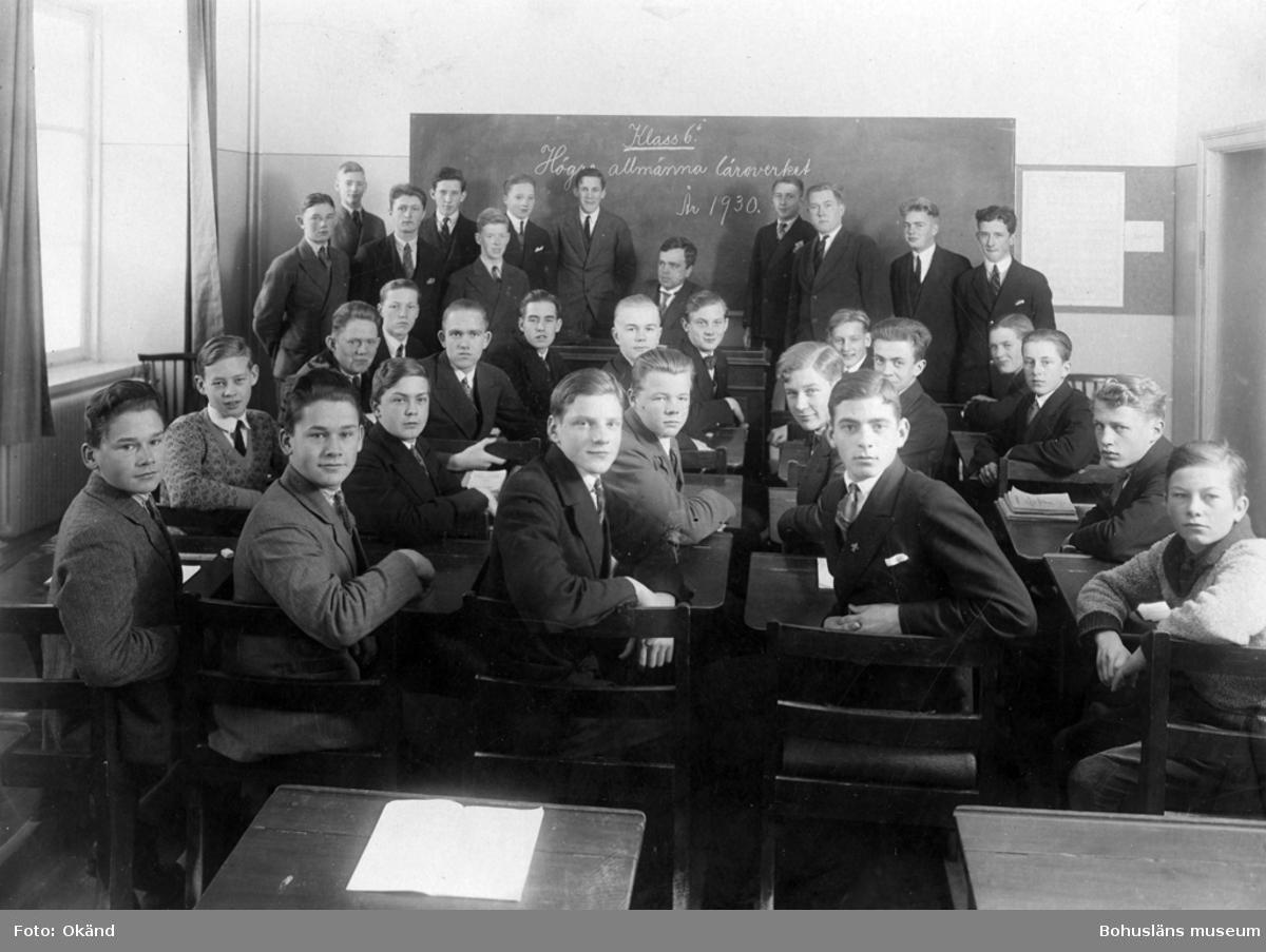 Läroverksklass 1930