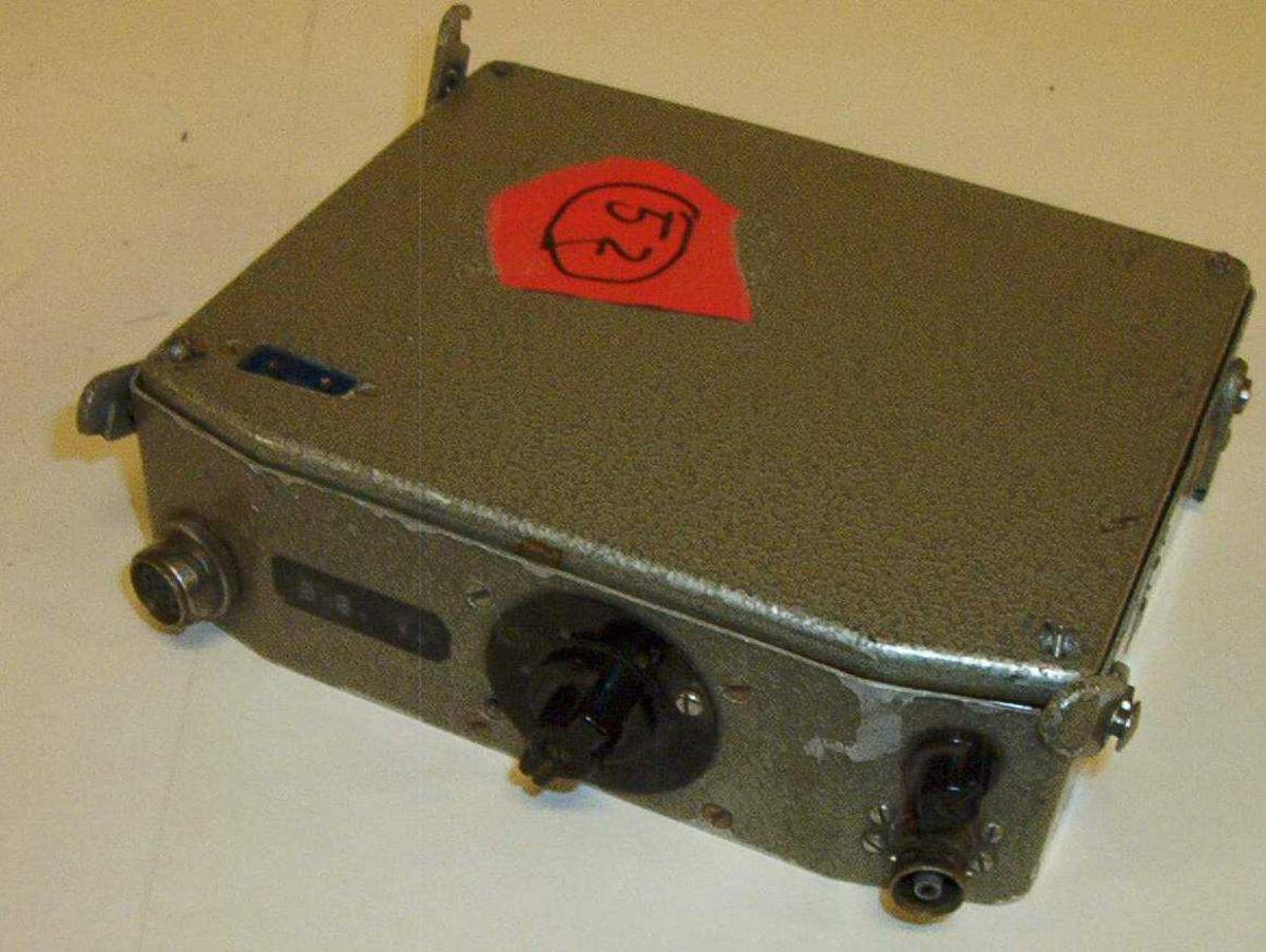 Mobil/kjøretøymontert radio (sender/mottaker)