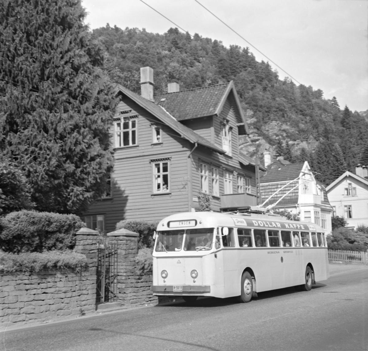 Trolleybyss type Munch i Bergen