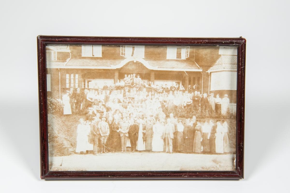 Det nordiske Studentmøtet på Eisvoll 1915 HG midt i første rekke