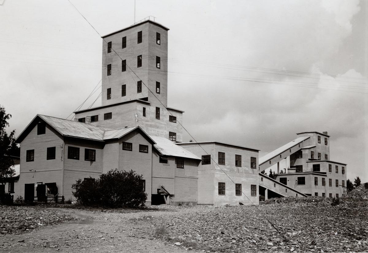 Anrikningsverket vid Stripa gruva, Bergslagen.