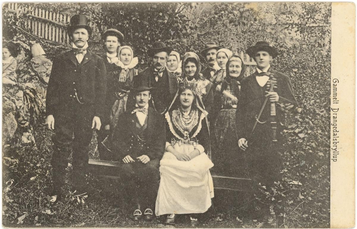 Bryllup i Drangedal