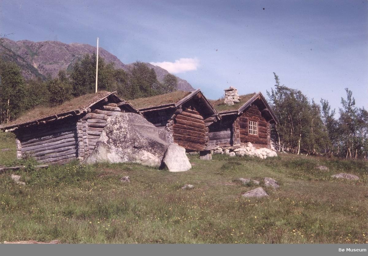 Myllargutheimen i Arabygdi Fotograf og eigar J. Lie, Bø