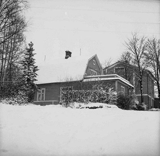 Bostadshus i Ställdalen, numera rivet.