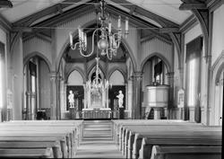 Hønefoss kirke. Ca. 1920.