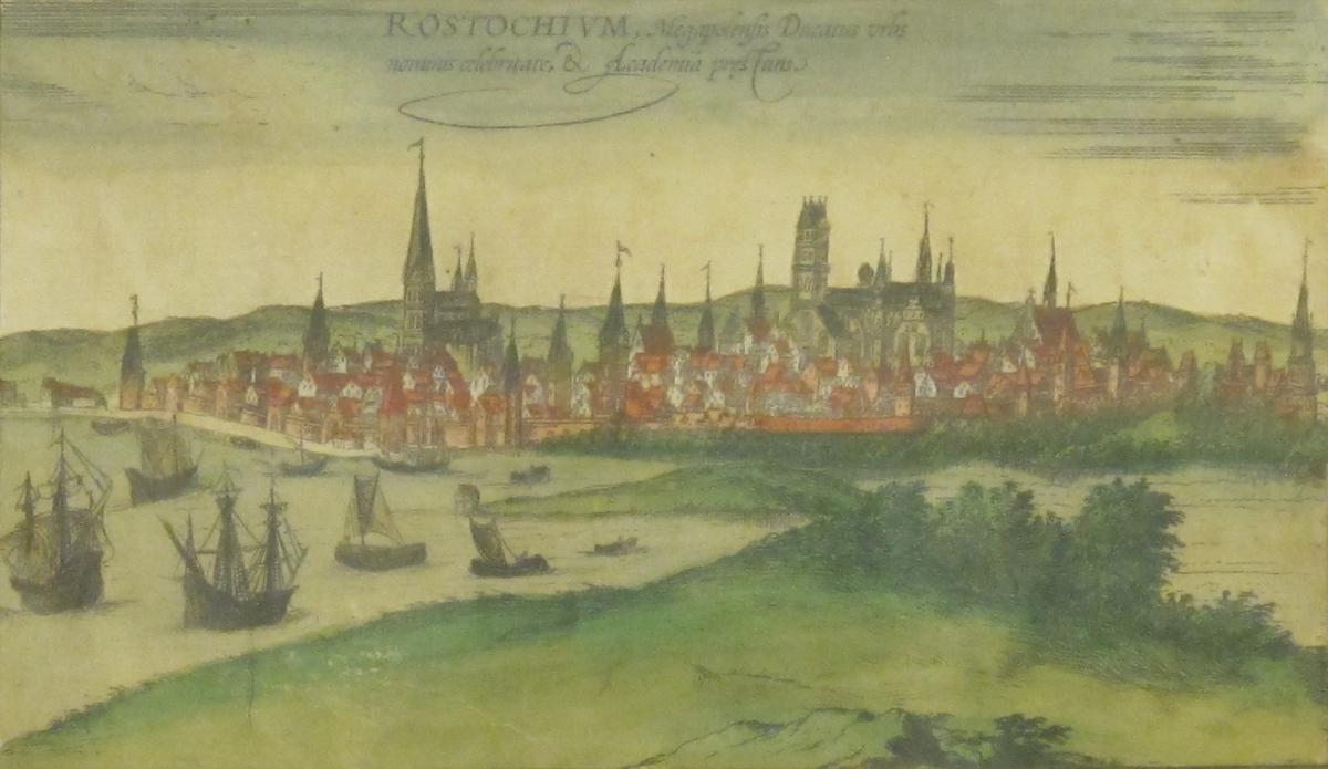 Rostock från sjösidan