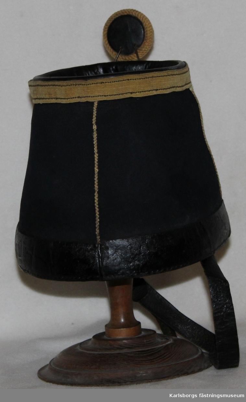 Mössa m/1854 för indelt soldat vid Västgöta regemente I 6