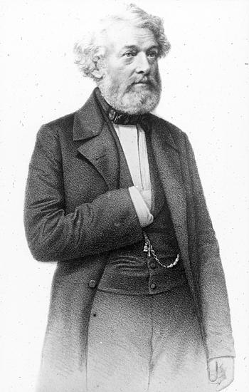 Levde 1804-1862.Var agronom och grundlade Sveriges första lantbruksinstitutKom till Degeberg 1828 och uppförde en ny manbyggnad 1832.