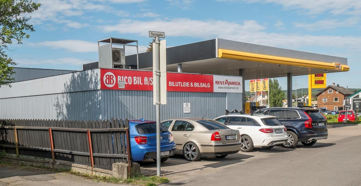 Uno X bensinstasjon Torvgata 40 Lillestrøm Skedsmo