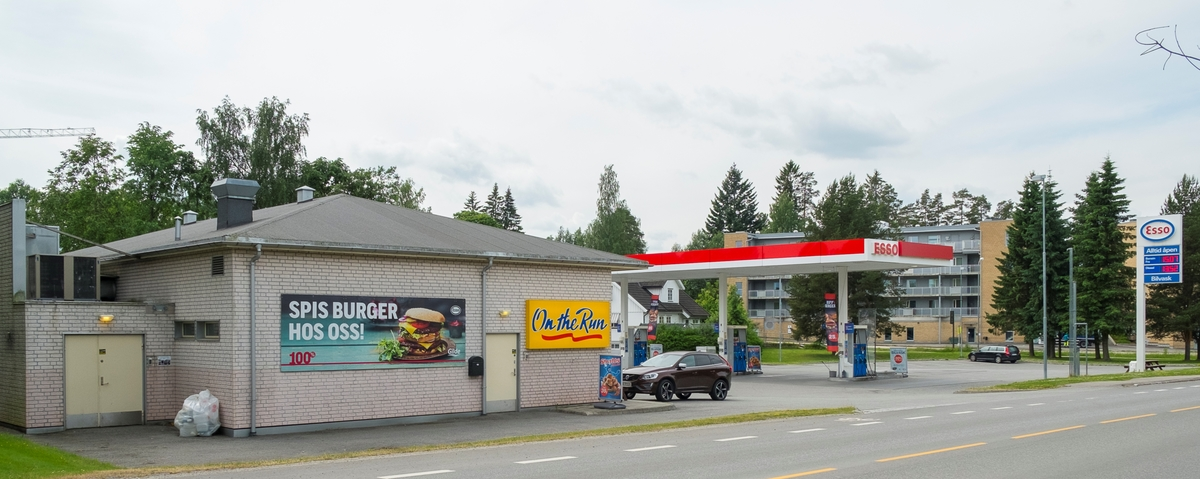 Esso bensinstasjon Ringveien Jessheim Ullensaker