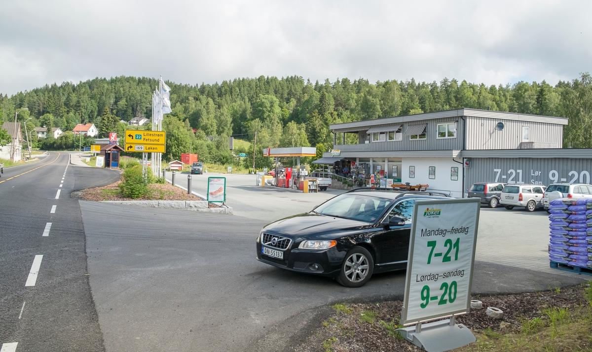 YX bensinstasjon Fetveien Gan Fet
