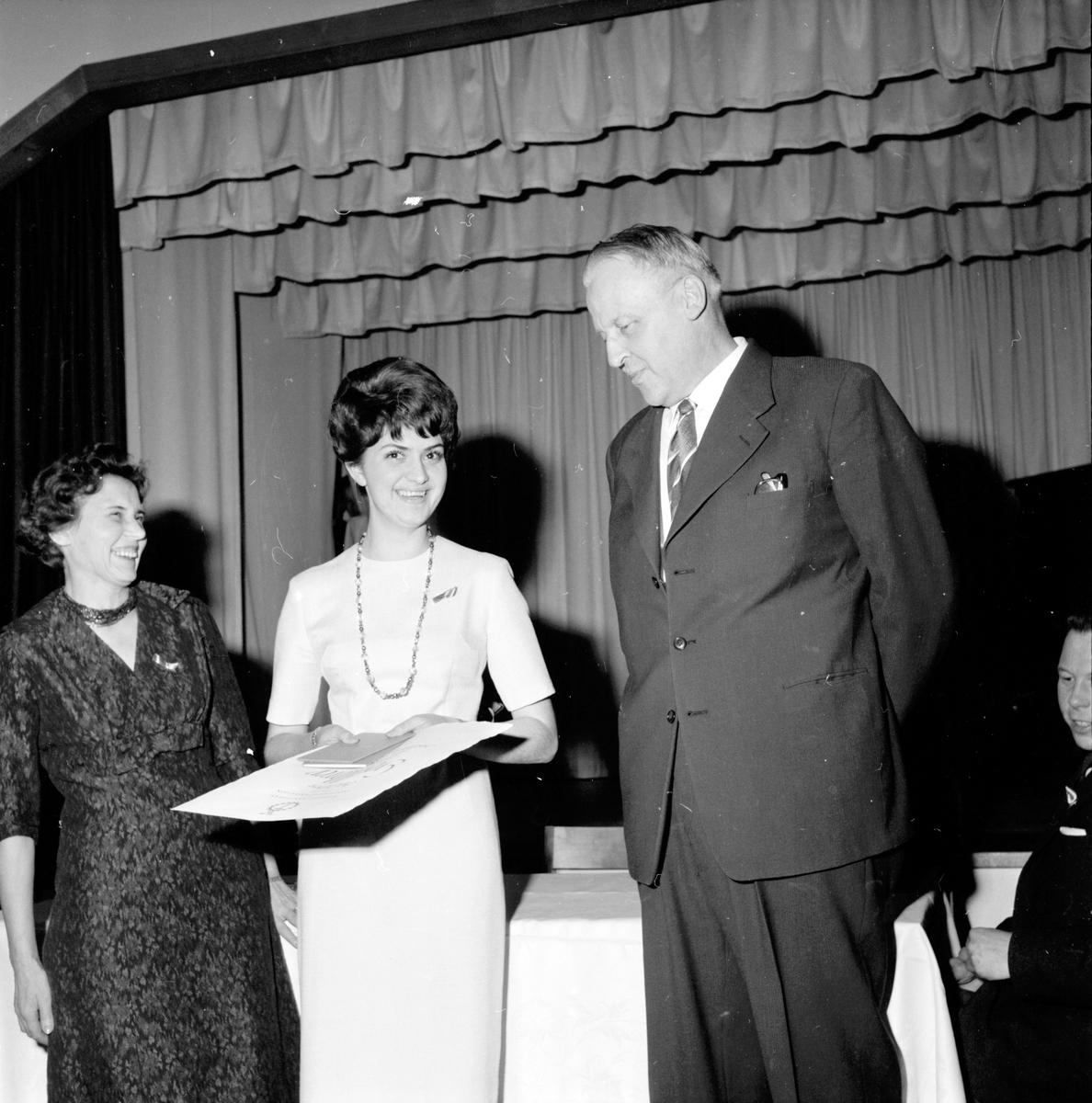 Arbrå, Hantverksförening, Gesällutnämning i Flästa ordenshus, 2 Februari 1963