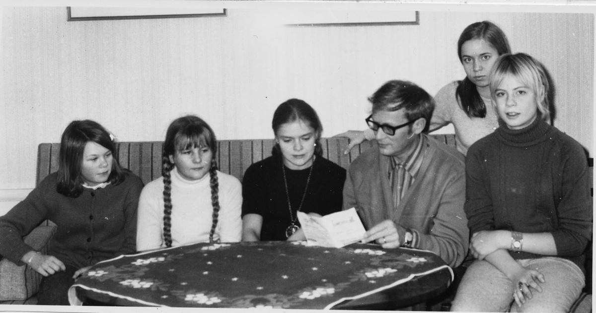 Undersvik, Stiftsgården, Kurs för unga sångare, Jan 1970