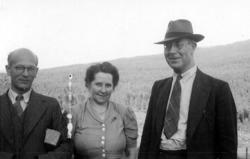 Fr v: Sigurd Bograng, Hildur Jonsson, Bograngen, Professor S