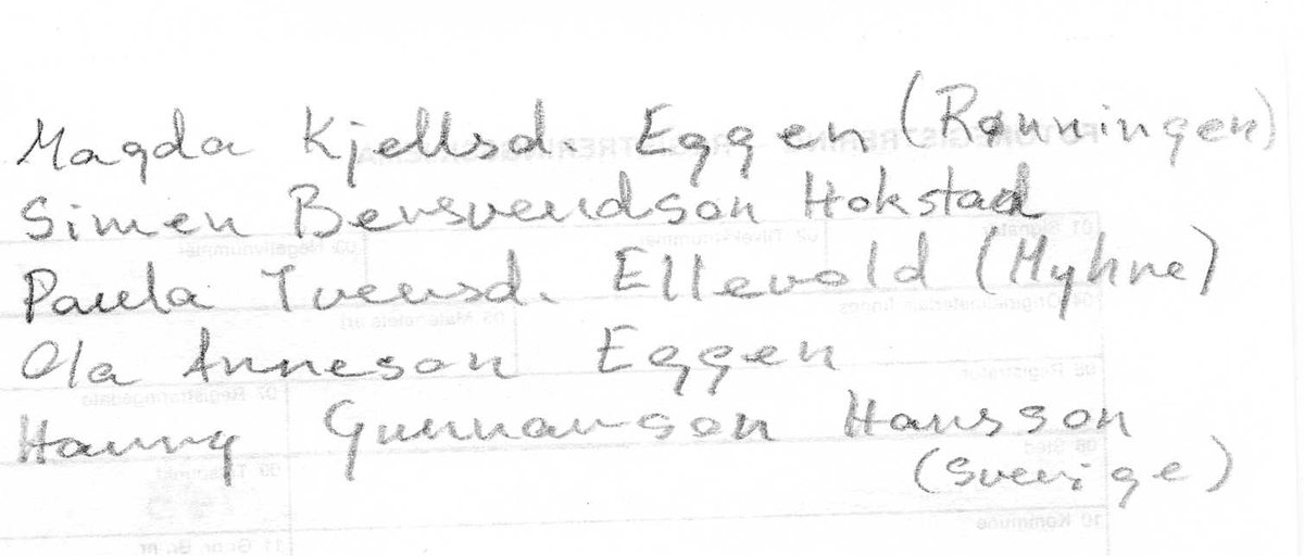 Framhaldsskolen i Tylldalen ca. 1943. Sverddans.