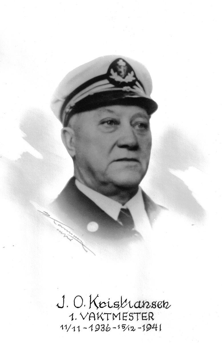 J. O. Kristiansen, vaktmester ved Botsfengslet