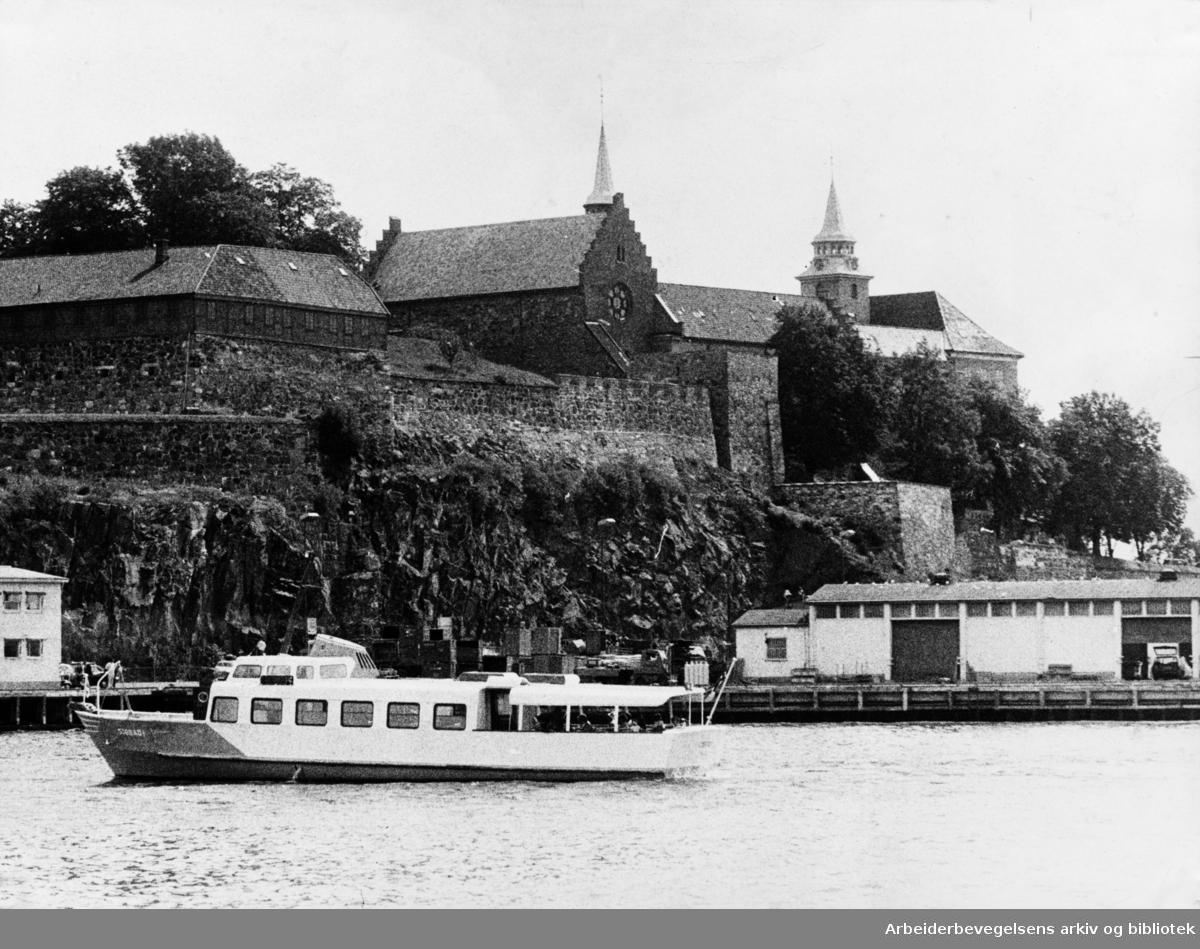 Akershus Festning. 1973