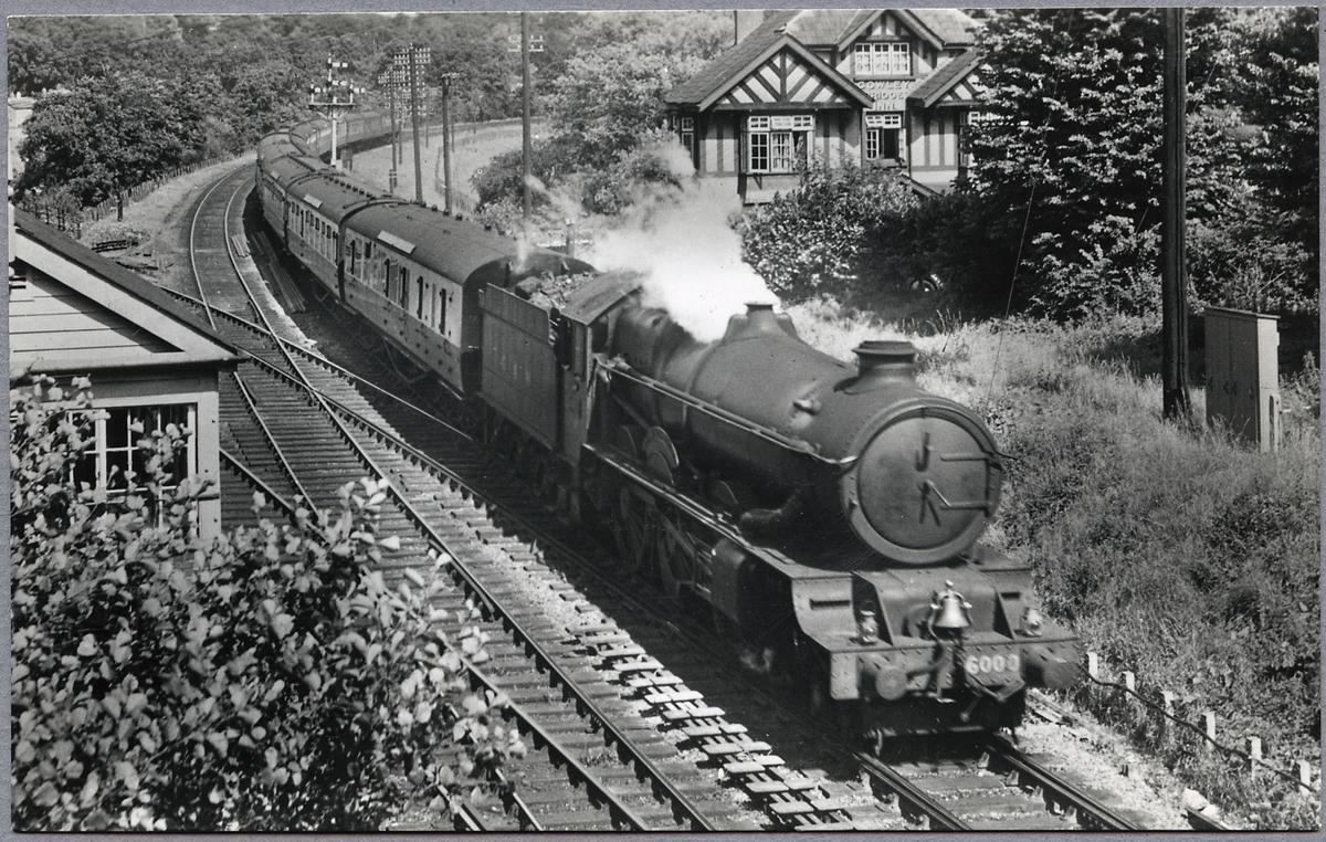 """Great Western Railway, G.W.R. King 6000 """"King George V"""""""