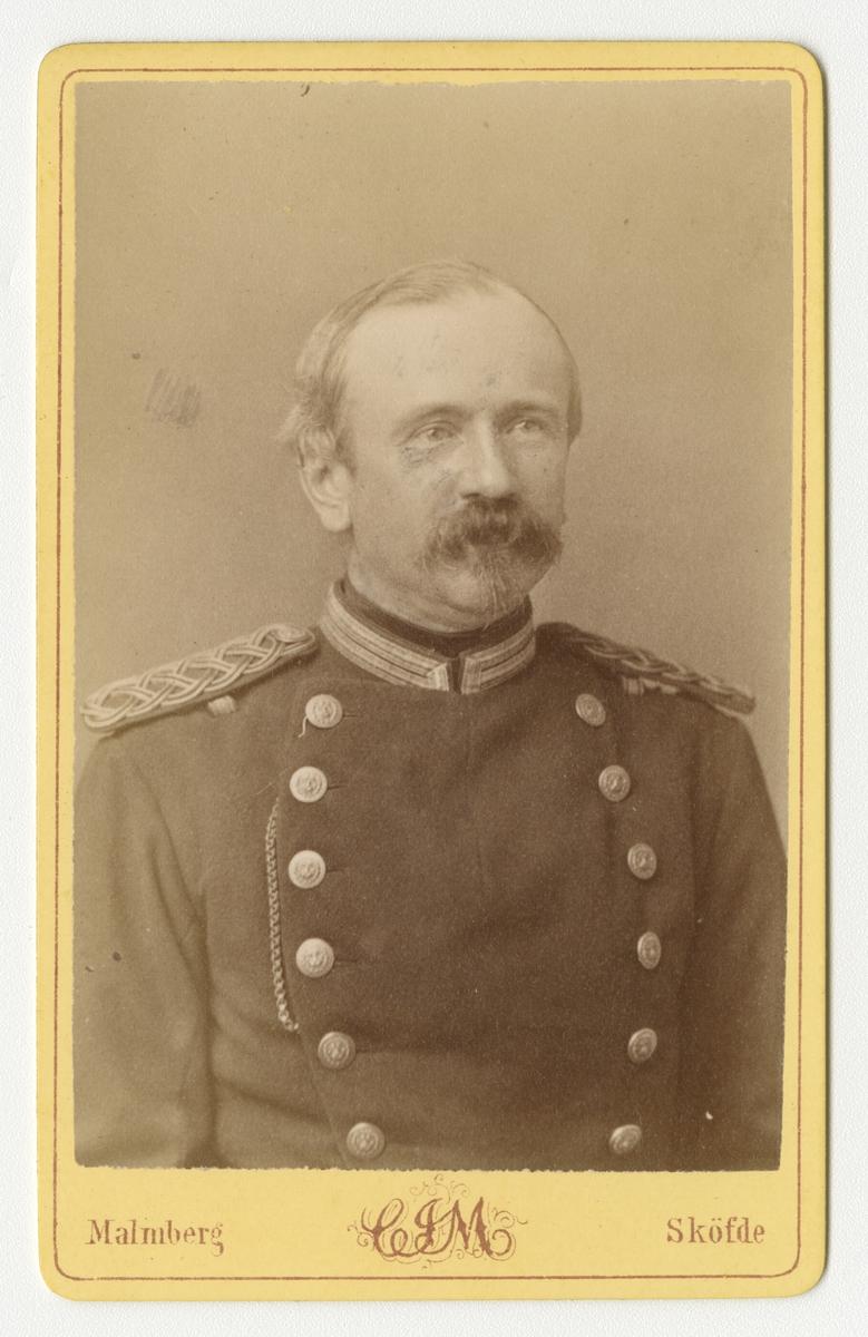 Porträtt av Fredrik Reinhold Gyllenhaal, officer vid Västgöta regemente I 6.