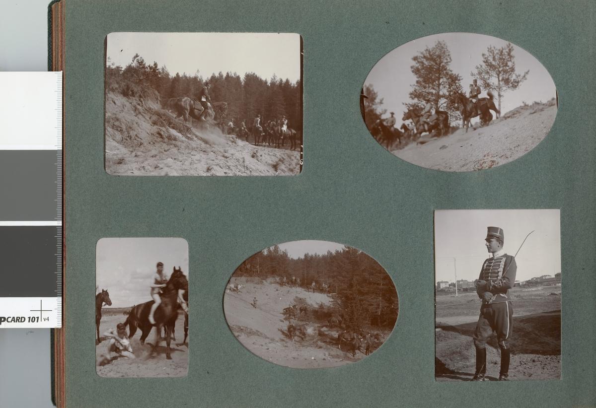 Soldater och hästar, Kronprinsens husarregemente K 7.