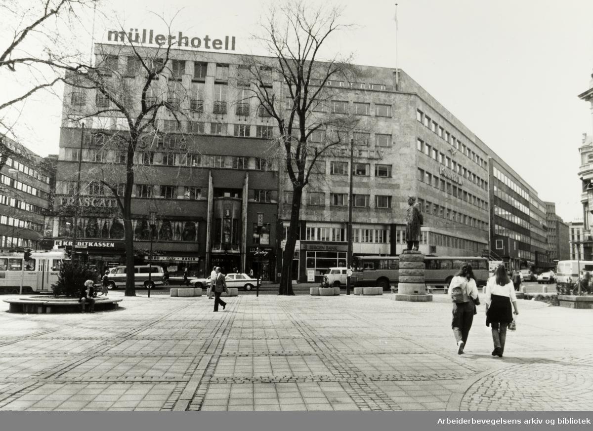 Høyres Hus. Stortingsgata 20. Mai 1981