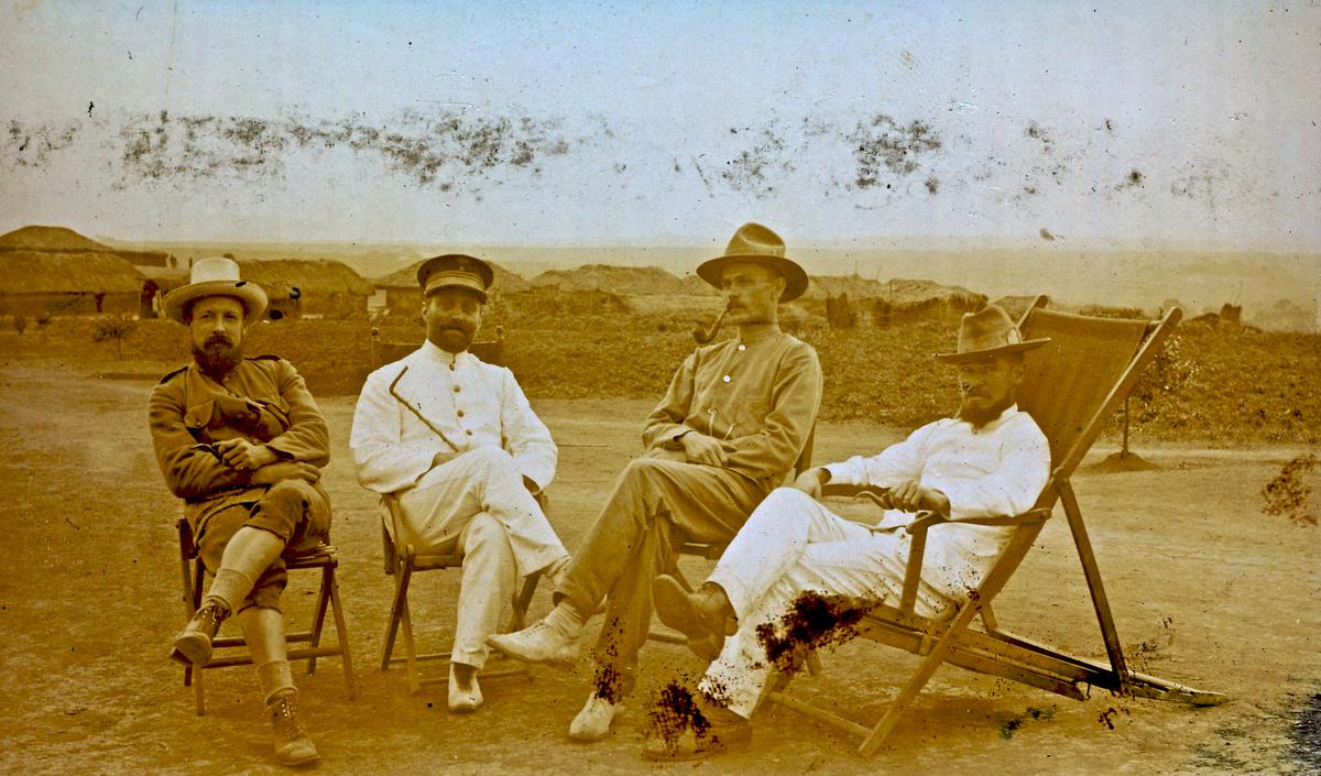 Forening for sjømenn, offiserer, dommere, leger og misjonærer som hadde tjent i Kongo (1879-1960)