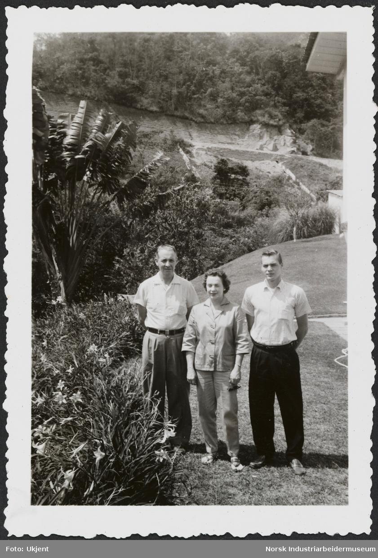 Knut, Betty og Bobbie Gjestland (Rio) oktober 1958